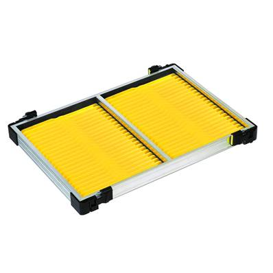 CASIER 30 MM + 40 PLIOIRS JAUNES 19 X 1.3 CM<BR>(Ref. 625121)